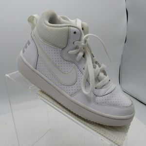 Nike Court Borough Mid Size 3.5Y Sneakers Shoes